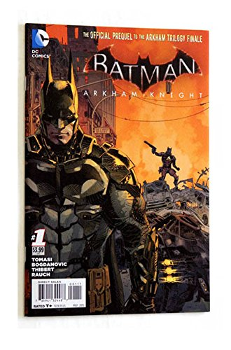 Batman: Arkham Knight #1 Comic Book - DC Comics 2015 - UNCIRCULATED