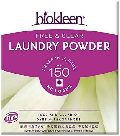 Laundry Detergent: Biokleen Free & Clear
