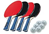 Compra Killerspin JETSET 4 Table Tennis Paddle Set with 6 Balls en Usame