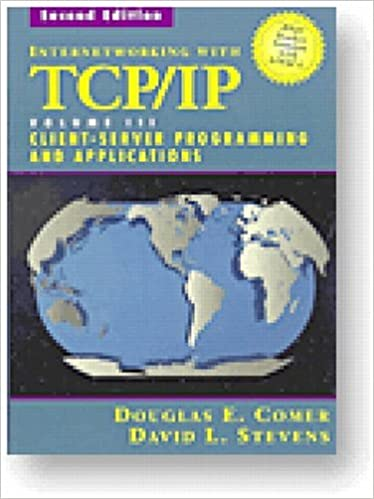 Internetworking with TCP/IP Vol  III, Client-Server
