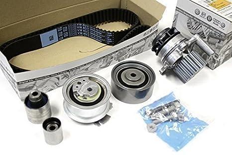 recambio original para VOLKSWAGEN VW kit correa de distribución + Bomba de agua, VW Audi: Amazon.es: Coche y moto