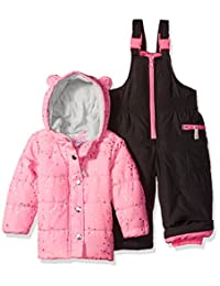 Carter's baby-girls Baby Infant Heavyweight 2 Pc Snowsuit With Ears