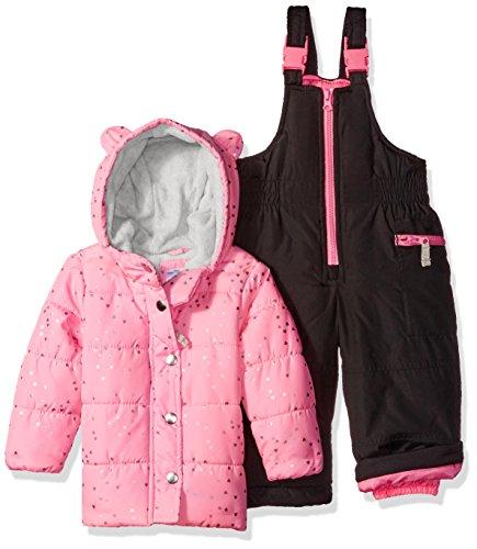 Carters Girls Infant Heavyweight Snowsuit