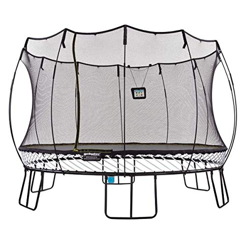 Springfree-Trampoline-8-10-11-13ft-Oval-Round-Square-Springless-Trampoline-with-Safety-Enclosure-Trampoline-Only