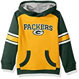 "NFL Youth Boys ""Allegiance"" Pullover Hoodie-Gold-M(10-12), Green Bay Packers"