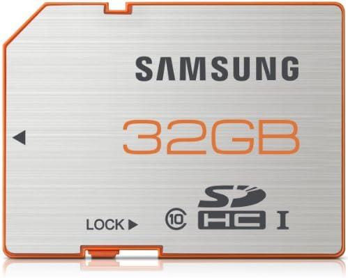 Samsung MB-SPBGC - Tarjeta microSDHC Plus de 32 GB Clase 10, Blanco