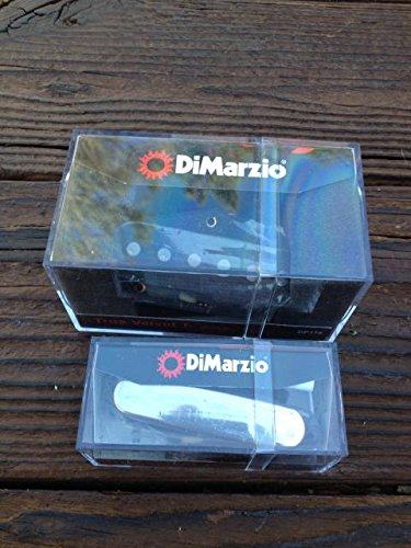 - DiMarzio True Velvet T Tele Pickup Set w/ Chrome Cover DP178 & DP177 Telecaster