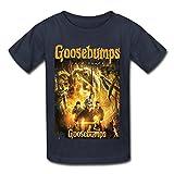 SOGA Boys Short Sleeve T-shirt Goose Novellas Bumps 2015 Size M Navy