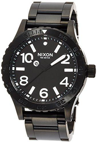 [ニクソン]NIXON 46: ALL BLACK NA916001-00 メンズ