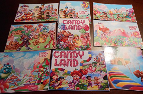 9 Candyland inspired stickers, labels, decals, candy land