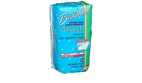 Amazon.com: Bodyform Regular Winged Maxi Pads, 12-Count Package (Pack of 36): Health & Personal Care
