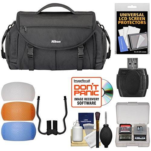 Nikon 17008 Large Pro DSLR Camera Bag with Diffuser Filter S