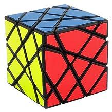 Aircee Moyu Aosu 4x4x4 Axis Transformers Fluctuation Angle Magic Puzzle Cube Black