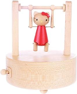 Carillon Music Box in Legno Trasforma Il Regalo di Compleanno della Barra Orizzontale Regalo di Natale