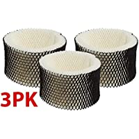 3-Pack of Honeywell HAC-504 AW Reinforced Humidifier Replacement Filter, Filter A