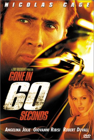 Gone in 60 Seconds - In New Outlets California