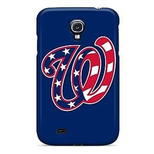 MarieFrancePitre Samsung Galaxy S4 Shock-Absorbing Hard Phone Case Provide Private Custom HD Baseball Washington Nationals 1 Image [wYN16705pFtI]