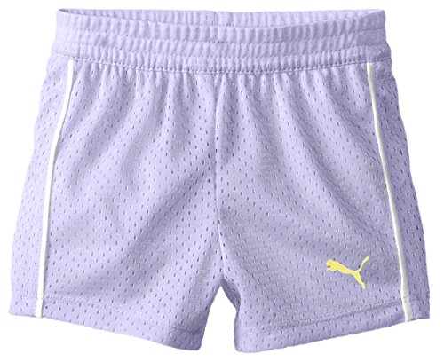 PUMA Baby Girls' Active Double Mesh Short, Winner Lilac, 18 Months by PUMA