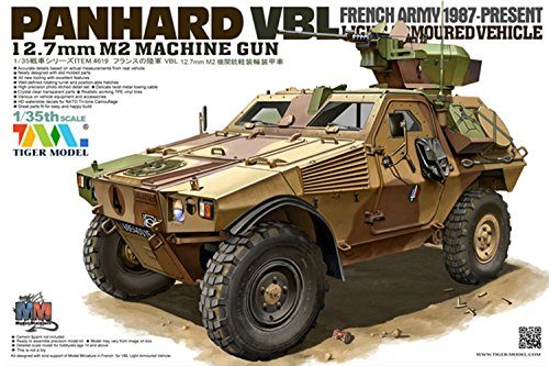 Tiger Model 1:35 VBL 12.7mm M2 MACHINE GUN LIGHT ARMOURED VEHICLE - Light Armoured