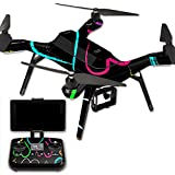 MightySkins Protective Vinyl Skin Decal for 3DR Solo Drone Quadcopter wrap cover sticker skins Hearts