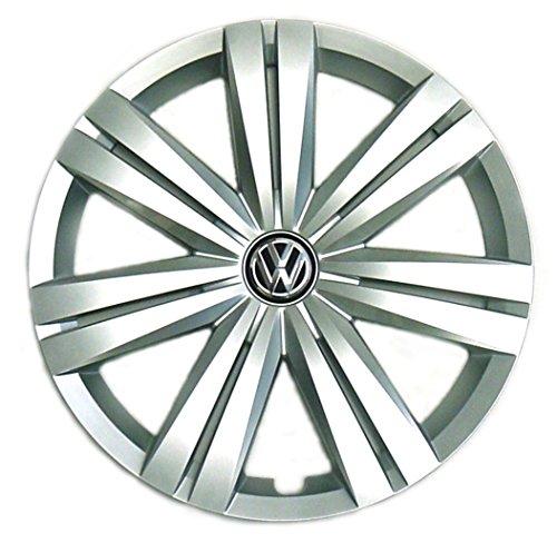 "New Genuine OEM VW Hub Cap Jetta 2015-2016 14-Spoke Fits 16"" Wheel 5C0601147EQLV"