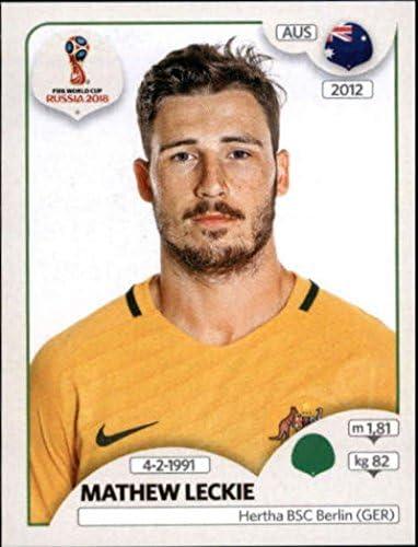 Mathew Leckie Australia No Panini World Cup 2018 Russia 229