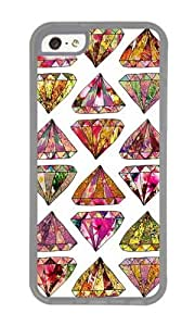 Apple Iphone 5C Case,WENJORS Uncommon these diamonds are forever Soft Case Protective Shell Cell Phone Cover For Apple Iphone 5C - TPU Transparent