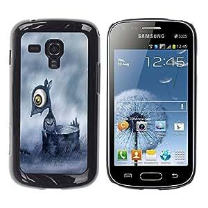 Be Good Phone Accessory // Dura Cáscara cubierta Protectora Caso Carcasa Funda de Protección para Samsung Galaxy S Duos S7562 // Sad Mouse