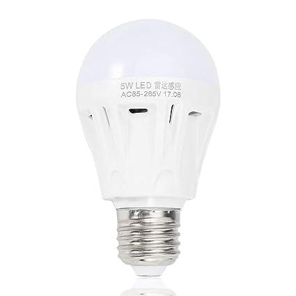 E27 LED de Movimiento del Radar de microondas Ambient Sensor de luz de la lámpara del