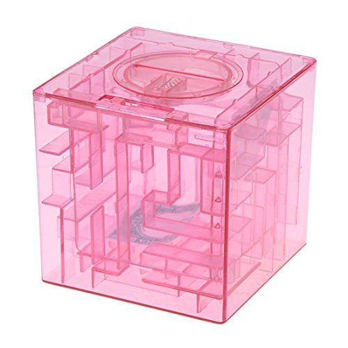 Rumfo Money Maze Puzzle Box Saving Banks Perfect Christmas or Birthday Unique Gifts For Special People - Fun and Inexpensive Game Challenge For Teenagers - Safe for Children