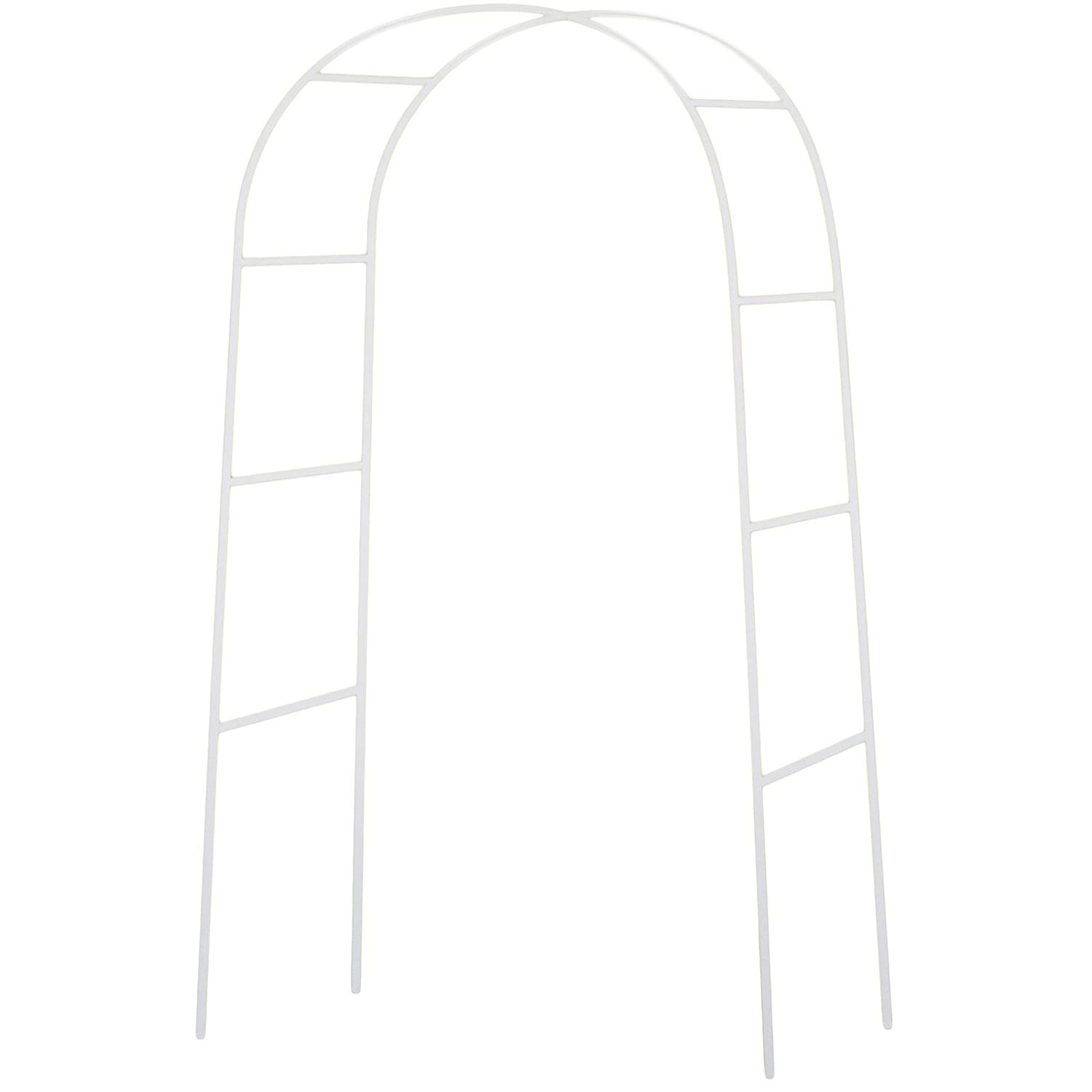 Amazon.com: NStar Real Sized Metal Decoration Arch, White: Arts ...