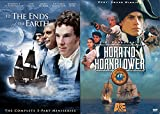 Captain Horatio Hornblower A&E DVD + To The Ends of the Earth MiniSeries War 2 Pack At Sea Movie Action Set