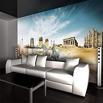 Papel pintado Mural Pegatina de pared Gigante HD Benma World Tour ...