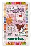 Madeira 80369350 SmartBox Cotona 50 18 Spool Set, 1100 yd