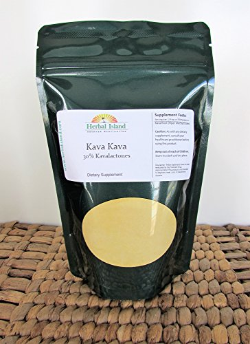 1 LB Kava Kava Root Instant Extract Powder (30% Kavalactones) Vanuatu Kava with Free Shipping by Herbal Island (Image #2)
