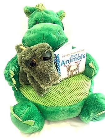 Tier Stuhl Kids Plüsch Weichen Dinosaurier 406 Cm Grün Und