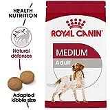 Royal Canin Croquetas para Razas Medianas, Medium Adult 25, 13.6 kg (El empaque puede variar)