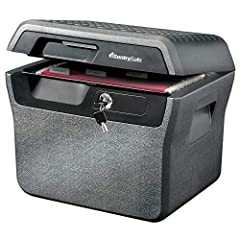 The SentrySafe FHW40220 Fireproof Box and Waterproof Box provides durable and reliable protection for your important documents. UL Classified fire protection and ETL Verified water protection offer true peace of mind for your irreplaceable re...