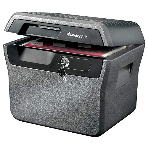 SentrySafe FHW40220 Fireproof Box and Waterproof Box with Key Lock 0.66 cu ft ()