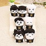 Nemoyard Fans BTS Kpop Bangtan Boys Funny Ugly Cute Plush Doll