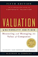 Valuation: Measuring and Managing the Value of Companies, University Edition, 5th Edition Paperback