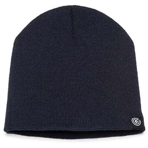 Original Beanie Cap  Soft Knit Beanie Hat  Warm and Durable for Winter Navy One Size - Womens Knit Cap