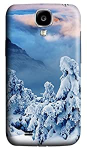 Brian114 Samsung Galaxy S4 Case, S4 Case - Customized 3D Designs Snap-on Case for Samsung Galaxy S4 I9500 Winter Is Coming Best Protective Back Case for Samsung Galaxy S4 I9500
