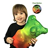 10 Different 12 Inch Novelty Food Throw Pillows (Gummy Bears)