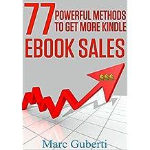 77 Powerful Methods To Get More Kindle eBook Sales