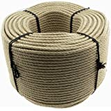 Polyhemp Rope Poly Hemp 12mm 220m twisted Grade A by Kanirope