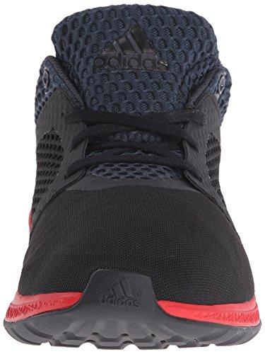 Adidas Performance Mens Energy Bounce 2.0 Scarpa Da Corsa Nero / Nero / Rosso Vivo