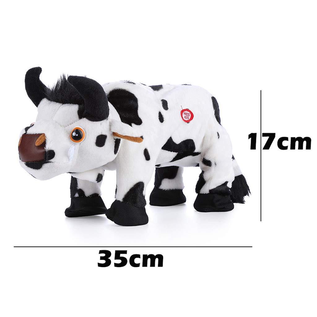 Onefa Kids Toy,Electric Walking Sound Plush Dull Toys Battery Powered Stuffed Animal