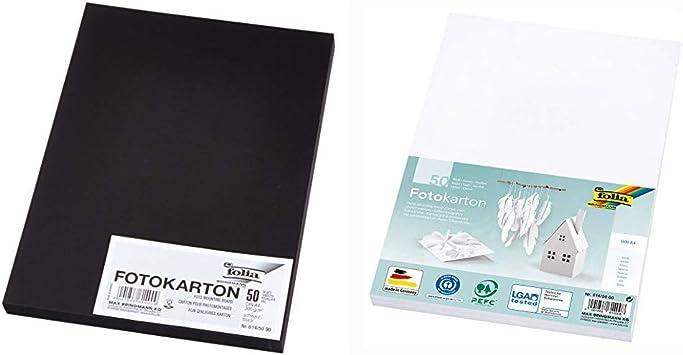 folia Fotokarton DIN A4 300 g//qm dunkelgelb 50 Blatt