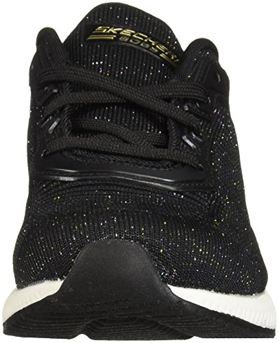 Black Chaussures Glam Fitness Bkmt de Skechers Bobs Noir Multi Squad Total Femme wIqtxzHfx
